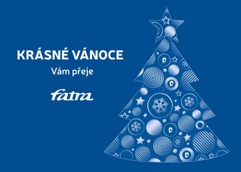Krásné Vánoce a šťastný nový rok!